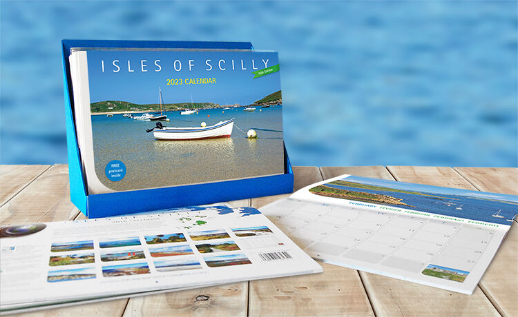 Calendars, Greetings Cards and Postcards featuring Cornwall and the